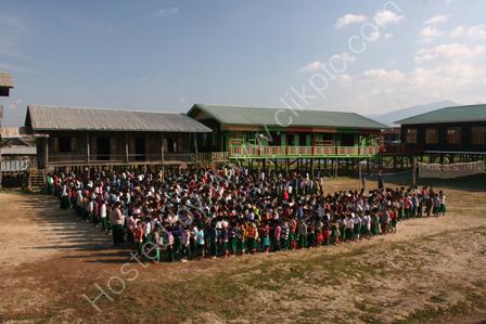 School Assembly at Kay Lar School