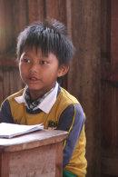 Burmese Schoolboy