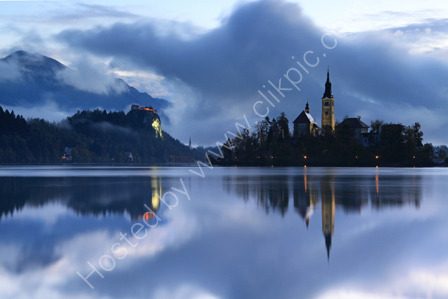 Lake Bled on a Misty Morn