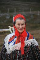 Sami Woman in Arctic Norway