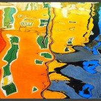 Burano reflections 4b - pastels