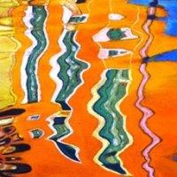 Burano reflections 2 - pastels