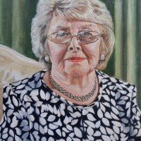 Margaret - oils on canvas