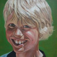 Samuel - oils on canvas board