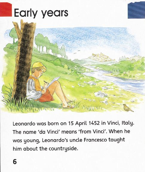 Leonardo da Vinci, children's non-fiction.