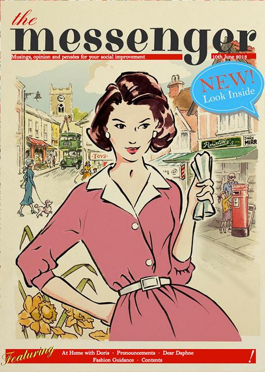 'Vintage' 1950s style illustration