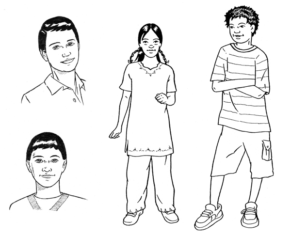 characters from children's educational series