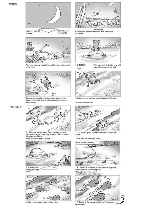 Frog lifecycle 1