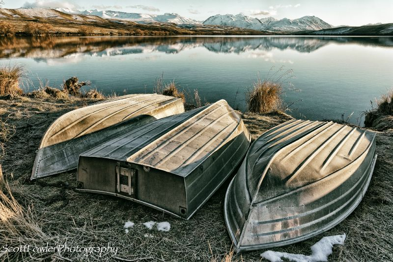 3 cold boats