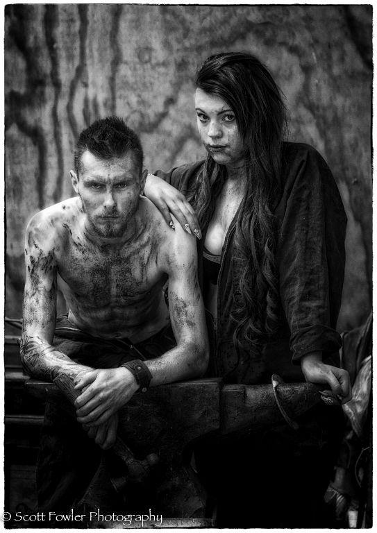 Blacksmith couple 2