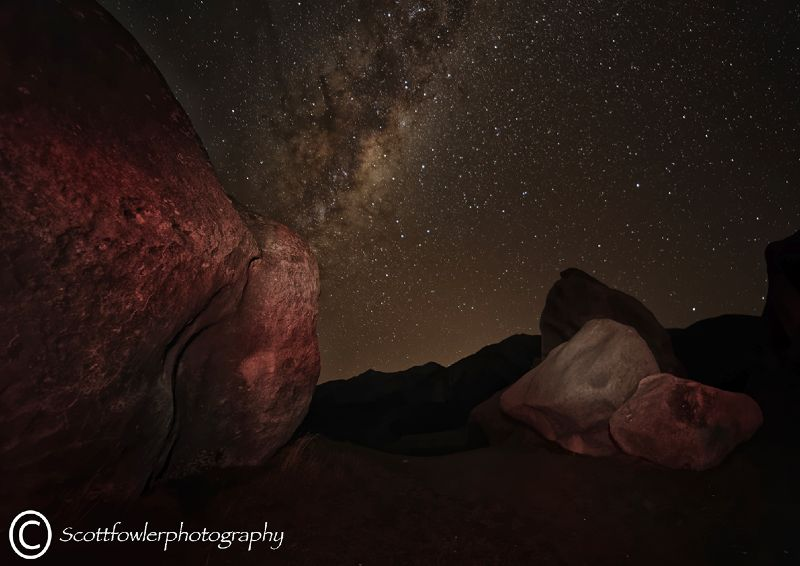 Castle hill, Milky way 1