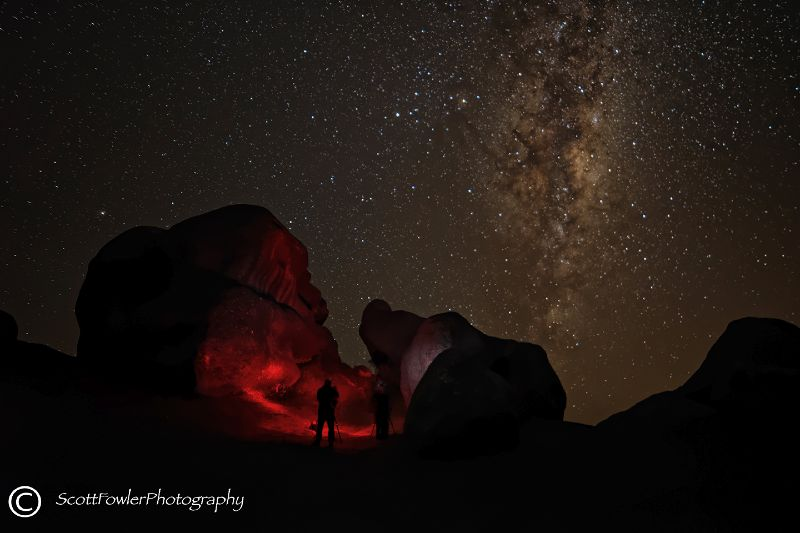 Castle hill ,Milky way 2