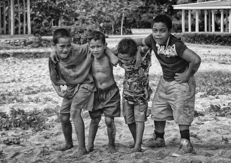 Children Savaii-32