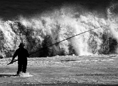 Fishing the Sea.