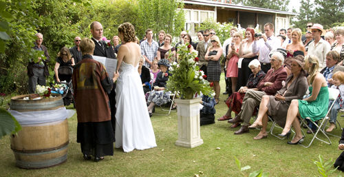 The Garden wedding