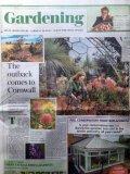 Saturday Telegraph - Garden section.