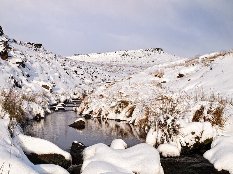 Burbage Brook in January
