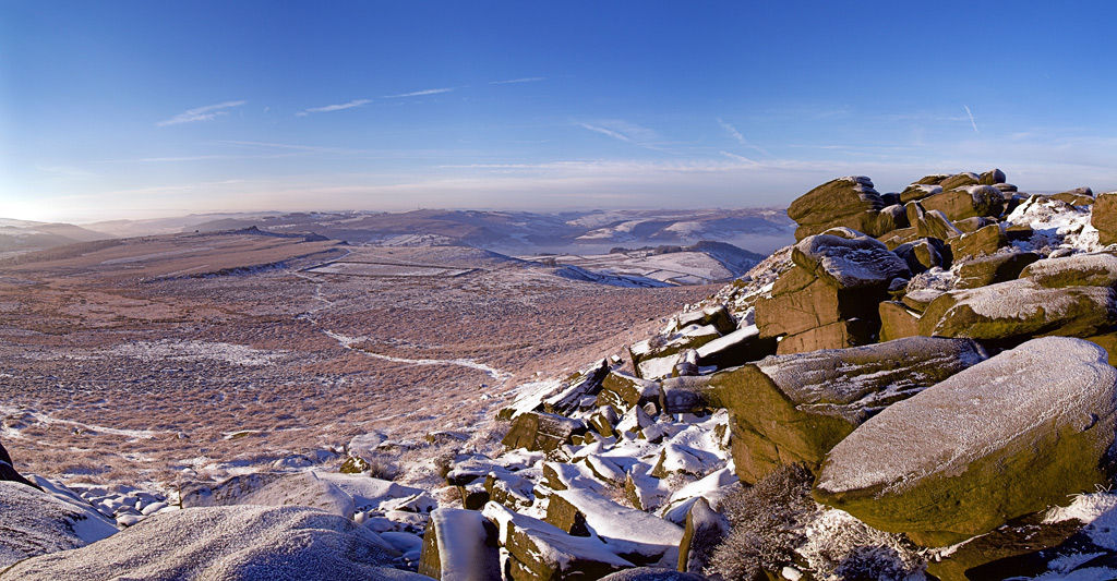 Higger Tor in Winter