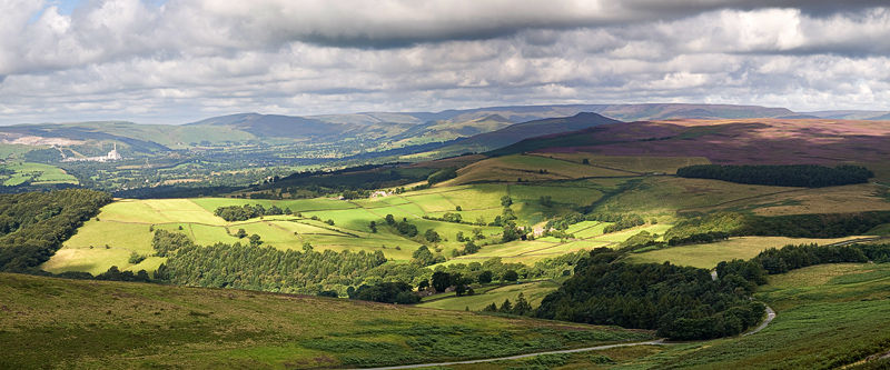 Hope Valley from Stanage Edge