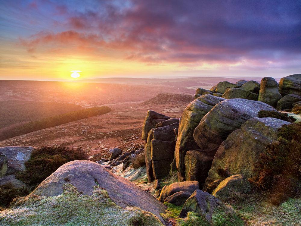 New dawn over Carl wark