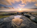 Stanage puddle - Long exposure