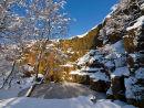 Snow on Millstone Edge