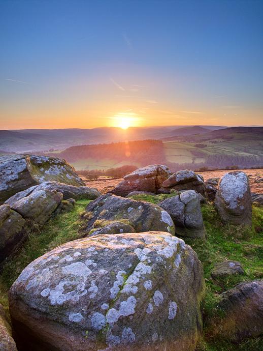Carhead rocks sunset