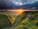 Winnats Pass sunrise