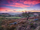 Afterglow over the Hope Valley