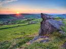Sunset from Windgather rocks