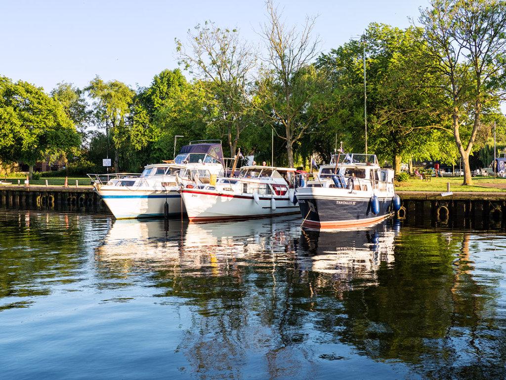 Boats at Beccles