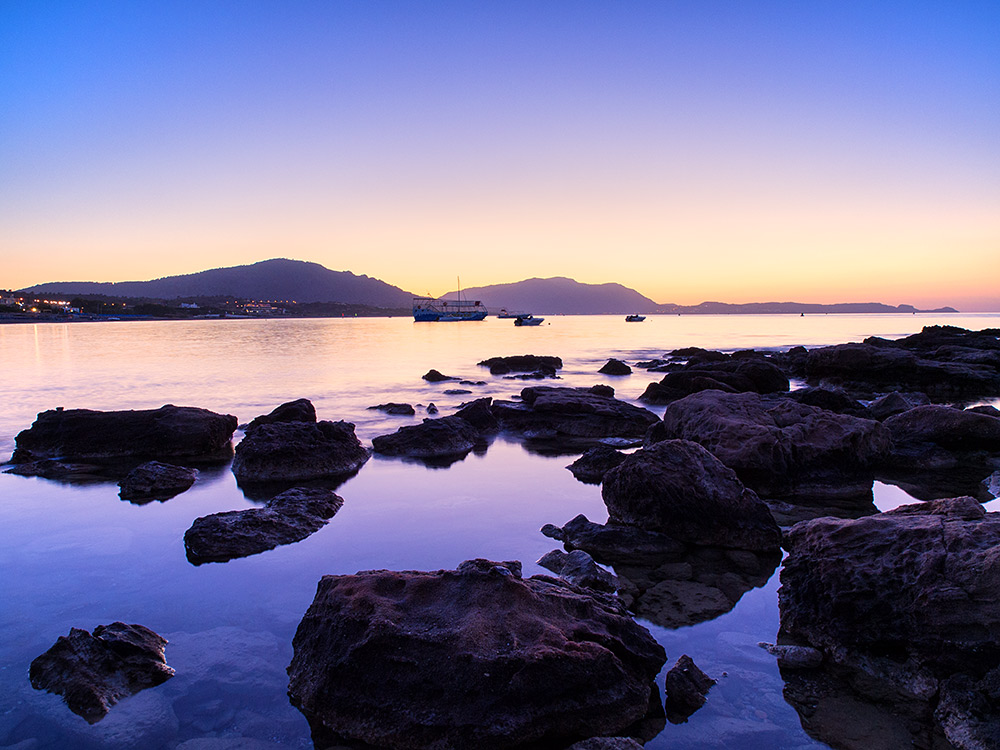Pre-sunrise Kiotari - Rhodes