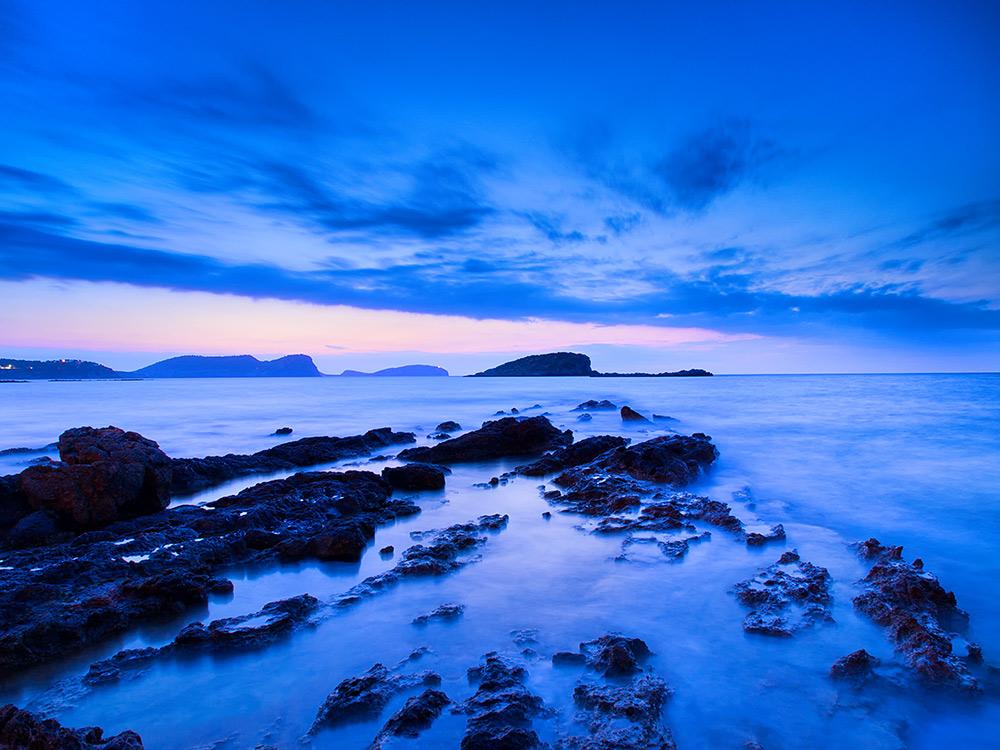 Pre-dawn light in Es Cana Ibiza