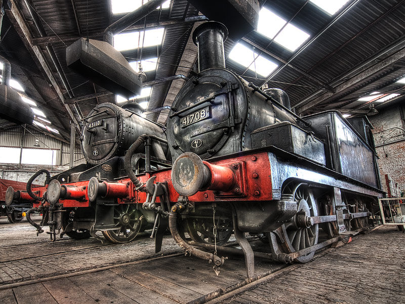 In the Roundhouse