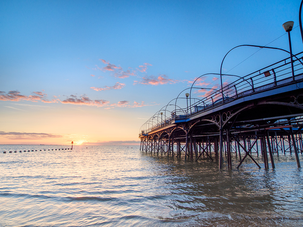 Sunrise at Cleethorpes