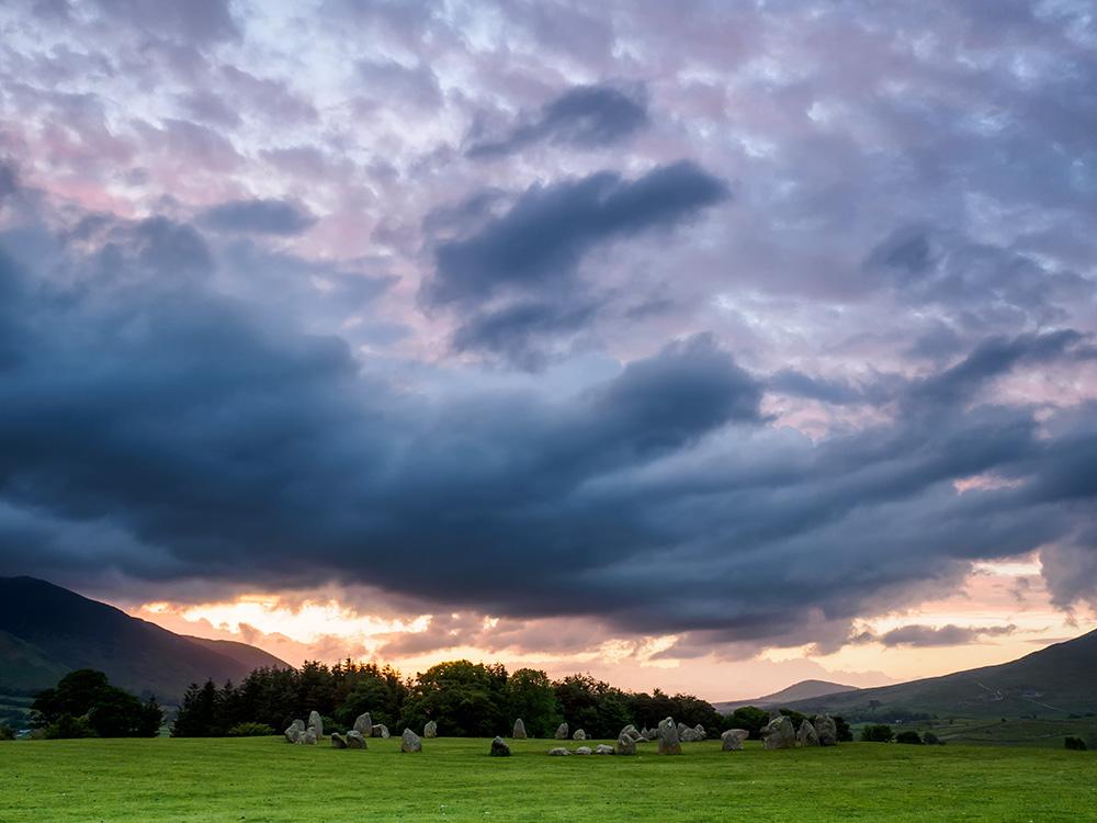 Pre-dawn over Castlerigg