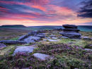 Pre-dawn light at Over Owler Tor
