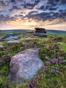 Rocks and heather