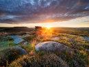 Summer sunrise from Over Owler Tor