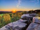 Birchen edge sunset