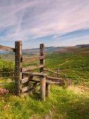 Stile on the Moors above Hathersage - Derbyshire