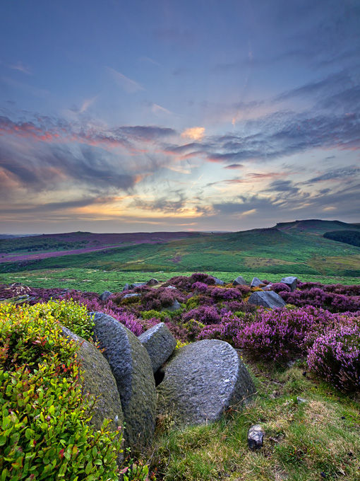 Last light over Burbage