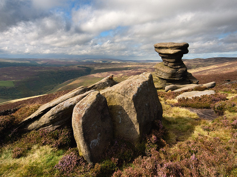 Salt Cellar on Derwent Edge