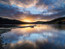 Sunset over Ladybower
