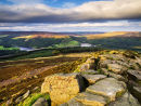 Ladybower from Win Hill - Derbyshire