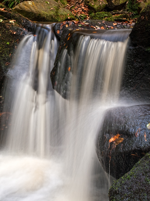 Waterfall - Padley Gorge Derbyshire