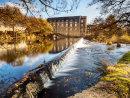 Bamford Mill in autumn