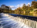 Bamford Mill weir
