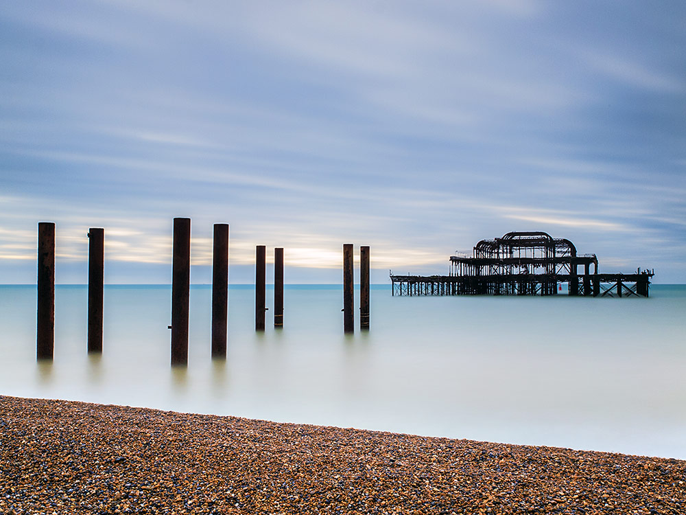 West Pier Long exposure