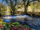 The river Dove at Beresford Dale